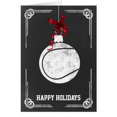Shop chalkboard tennis player Christmas Cards created by XmasMall. Holiday Greeting Cards, Christmas Greetings, Christmas Cards, Happy Holidays, Xmas Holidays, Tennis Players, Smudging, Paper Texture, Chalkboard