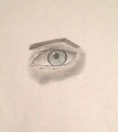 A realistic human eye I drew. I think this one is more advanced then what I'm used to. Thanks!!!