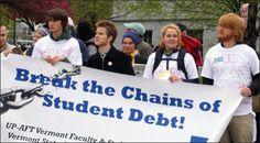 break the chains of student debts