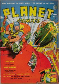 Planet Comics #4