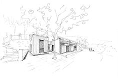 Casa Anna / Sauquet Arquitectes / Works because shadow is only on building, emphasizing architecture over site