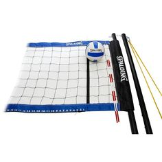 Spalding Professional Volleyball Set, Multicolor
