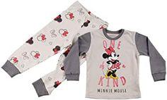 Minnie Mouse, Kids Fashion, Tops, Women, Pajama Set, Cotton, Kids, Junior Fashion, Babies Fashion
