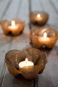 plastic bottle cap floating candle - Google Search