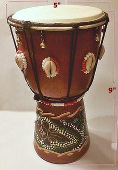 Santeria Yoruba. African TRIBAL decorated  SHANGO TAMBOUR  Drum . tambor para Chango orisha by tiendaAmerican on Etsy