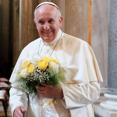 Pope Francis provided a certificate blessing the union