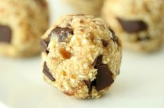 I Love Health | Cookie Dough Balls || easy and healthy snack | http://www.ilovehealth.nl