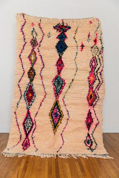 This vintage berber rug from coco carpets is paradise.