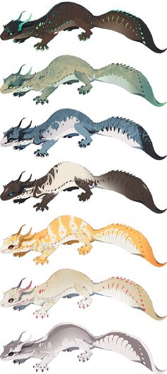 Squirrel dragons!