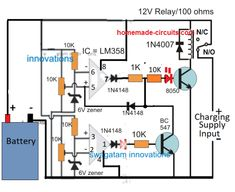 high Ah current battery charger using Lm358