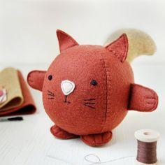 Make Your Own Squirrel Toy Craft Kit. Children's door claraandmacy