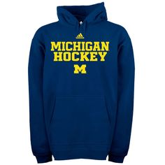 Adidas Michigan Wolverines Hockey
