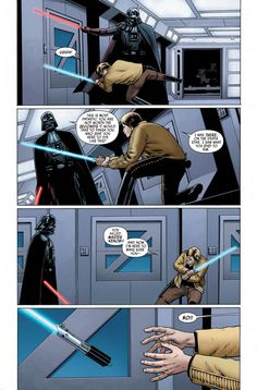 Luke and Vader first clashed on Bespin, right? Think again.
