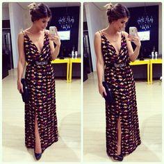 Da noite!  Vestido @missmaryriopreto e cinto @codiificada | #lookdanoite #lookoftheday #selfie #ootd #blogtrendalert