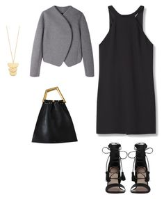 """""""😊"""" by indahhalit on Polyvore featuring Proenza Schouler, MANGO, Zimmermann and Gorjana"""