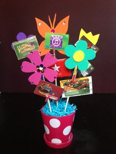 Gift card bouquet marsha penner lael girls pinterest gift gift card bouquet negle Choice Image