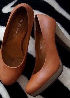 Kup mój przedmiot na #vintedpl http://www.vinted.pl/damskie-obuwie/na-wysokim-obcasie/12242336-buty-na-slupku-brazowe-obcasy