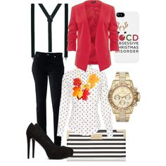 A fashion look from December 2014 featuring Paul Smith tops, 7 For All Mankind jeans and Forever 21 pumps. Browse and shop related looks. Red Blazer, December 2014, Paul Smith, Floral Tops, Forever 21, Fashion Looks, Skinny Jeans, Pumps, Seasons