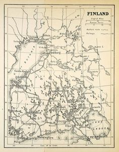 Map of oulun kaupunki Oulu Pinterest