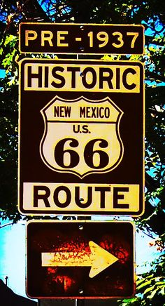 Route 66, the etherial road that matched or followed the route of the Wagon Trains and usettlers traveling form Chicago, or Mid-West to California and the West.