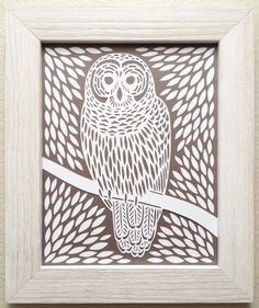Image result for owl paper cutting