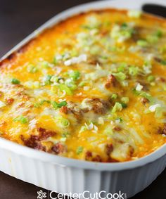 Famous spaghetti pie, my way! This Italian dish is oh-so-cheesy, creamy, and filling! It's a family favorite!