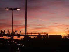 Sunrise in Pompey Station (again).