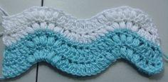 #Crochet-patron para hacer mantitas, covijas, bufandas, etc.