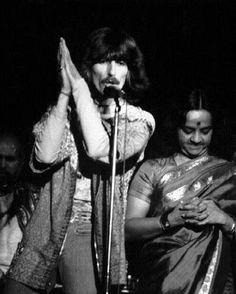 George Harrison in vrindavan india  1979 ...