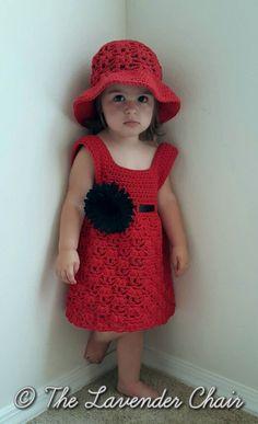Weeping Willow Toddler Dress Crochet Pattern от TheLavenderChair