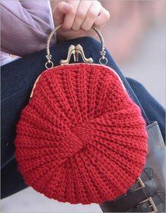 Letras e Artes da Lalá: Bolsas de crochê (pinterest)