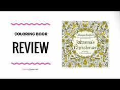 Johanna's Christmas: A Festive Colouring Book (UK edition) is available in UK and US editions (which are slightly different).     This is the fourth coloring book by renowned illustrator, Johanna Basford and her first Christmas themed colouring book for adults.    <3 Click through to see the full coloring book review of  Johanna's Christmas Coloring Book