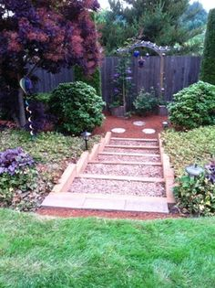 Outdoor Stairs Garden