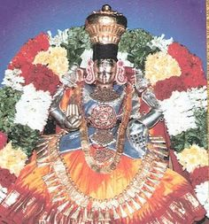 In his Dreams  Ramanujam attributed the mathematical formulae that he came up with, to Namagiri Thayar, the Goddess of Namakkal temple.