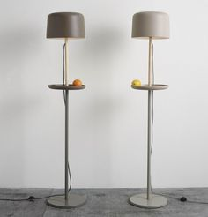 Handmade Ceramic materials floor lamp FUSE FLOOR by Ex.t design NOTE Design Studio