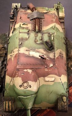 1/35 scale #Jagdpanzer 38(t) #Hetzer Dragon models kit with #Friulmodellismo tracks and #Aber photo etch fenders and detailing. German #tank #Model.