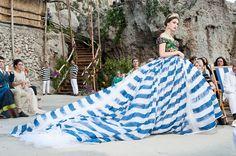 「ドルチェ&ガッバーナ」2014-15年秋冬クチュール・コレクション Photo: Courtesy Dolce & Gabbana