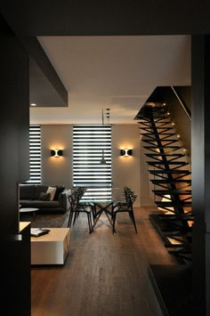 A Merging Of Two Apartments In France: 150M2 Duplex by MYSPACEPLANNER