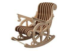 Купить или заказать Кресло-качалка для куклы в интернет-магазине на Ярмарке Мастеров. Оригинальное кресло-качалка станет украшением интерьера кукольного дома для вашей куклы.