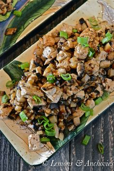 Mushroom-Tofu Lettuce Wraps @Jean Pope | Lemons & Anchovies