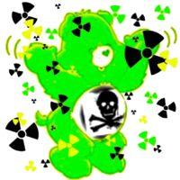 Radioactive Care Bear  By Nina Garman