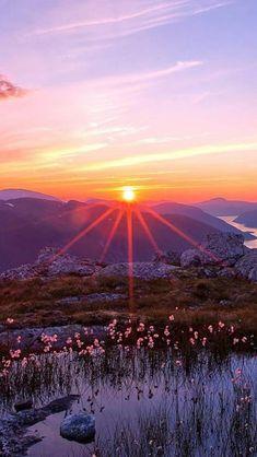 Nature Fantasy Sunset Landscape iPhone 5s wallpaper