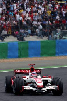 Takuma Sato (JPN) Super Aguri F1 Team SA07. Formula One World Championship, Rd 8, French Grand Prix, Race, Magny-Cours, France, Sunday 1 July 2007. ©Sutton/Sutton Motorsport Images/SAF1