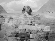 The Sphinx at Giza Egypt in 1942 | by Keith Brigstock