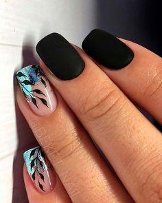 So niedlich kurze Acrylnägel Ideen Sie werden sie lieben! - - So niedlich kurze Acrylnägel Ideen Sie werden sie lieben! Best Acrylic Nails, Acrylic Nail Art, Acrylic Nail Designs, Nail Art Designs, Nails Design, Black Nail Designs, Matte Nail Art, Pretty Nail Designs, Short Nail Designs