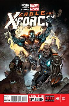 "Hopeless Makes Villains of ""Cable And X-Force - Comic Book Resources"