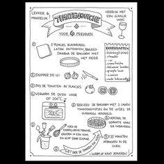 Deze quiche staat vanavond bij ons op tafel! Lekker makkelijk weekend eten.  #letterart #lettering #handlettering #handdrawn #handwritten #handmadefont #sketch #doodle #draw #tekening #illustrator #typspire #dailytype #typedaily #modernlettering #moderncalligraphy #recept #recepttekenen #illustratie #illustration