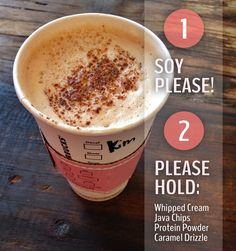 Unfortunately, a few drinks cannot be made vegan because of the dairy products in the syrup ingredients. Completely avoid these drinks: Anything with pumpkin spice, Anything with white mocha, Anything with caramel brûlée, Any light frappuccinos