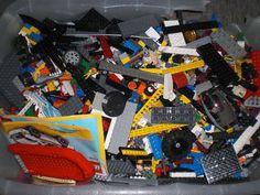 Wir bieten ca. 6,5 kg. Original Legosteine aus verschiedenen Serien wie z.B. Lego Technic, Lego Creator, Lego Ninjago usw.Alle Steine sind unterschiedlich, ohne Verpackung.