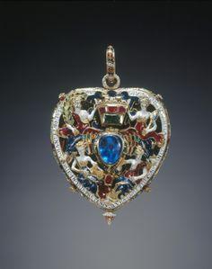 The Lennix Jewel, an elaborately emblematic object d'art, c. 1564, Edinburgh.